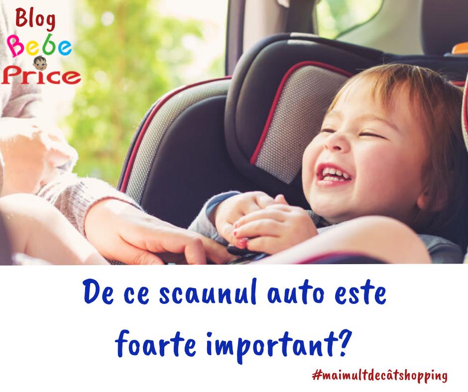 Siguranta bebelusului in scaunul auto
